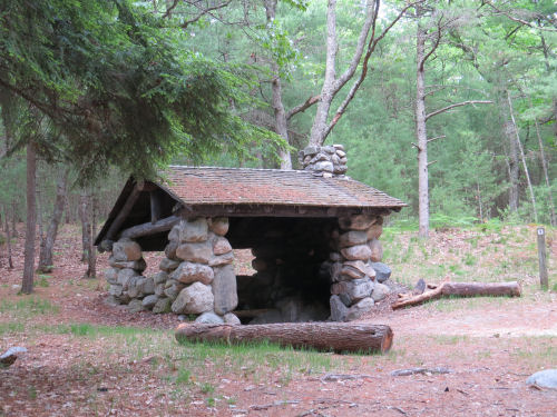 stone shelter built by the CCC