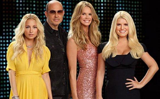 Fashion star mentors Nicole Richie, John Varvatos, Elle MacPhearson, Jessica Simpson