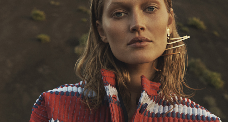 toni garrn by emma tempest for l'express styles march 2016