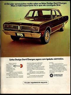 propaganda Dodge Dart Charger - 1975