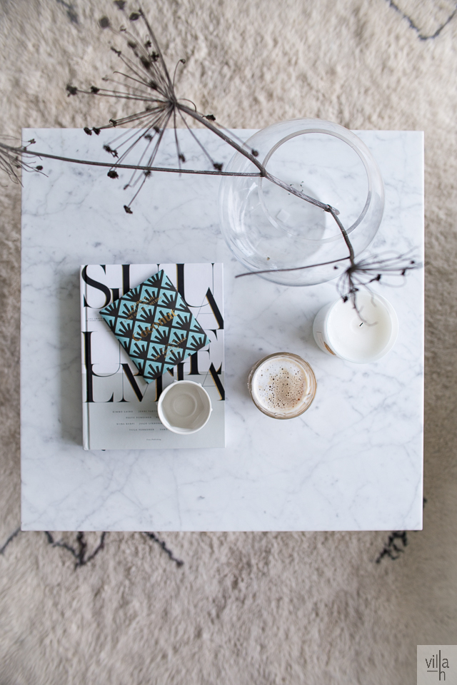olohuone, sisustus, interior, koti, villa h, kahvihetki