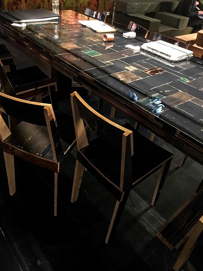 Schwarz ist angesagt Internationalen Möbelmesse imm2017 in Köln mit Herstellern wie String, Vita, Bloomingville,Cane-line und Carolijn Slottje