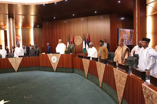 President Buhari and State Governors