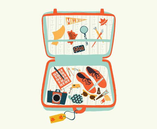 La valigia estiva per A Coruña