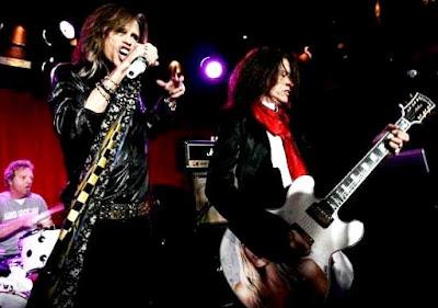 Foto de Aerosmith en el escenario