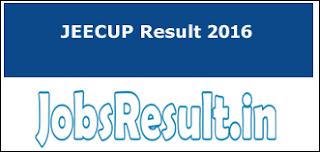 JEECUP Result 2016