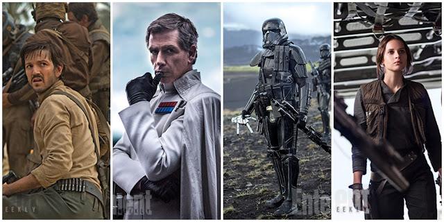 """Imagens inéditas de """"Rogue One: Uma História Star Wars"""" apresentam combatentes da resistência"""