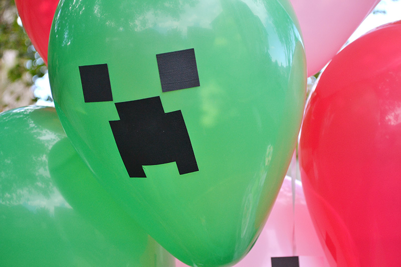 Aly Dosdall Diy Minecraft Party Decor Part 2