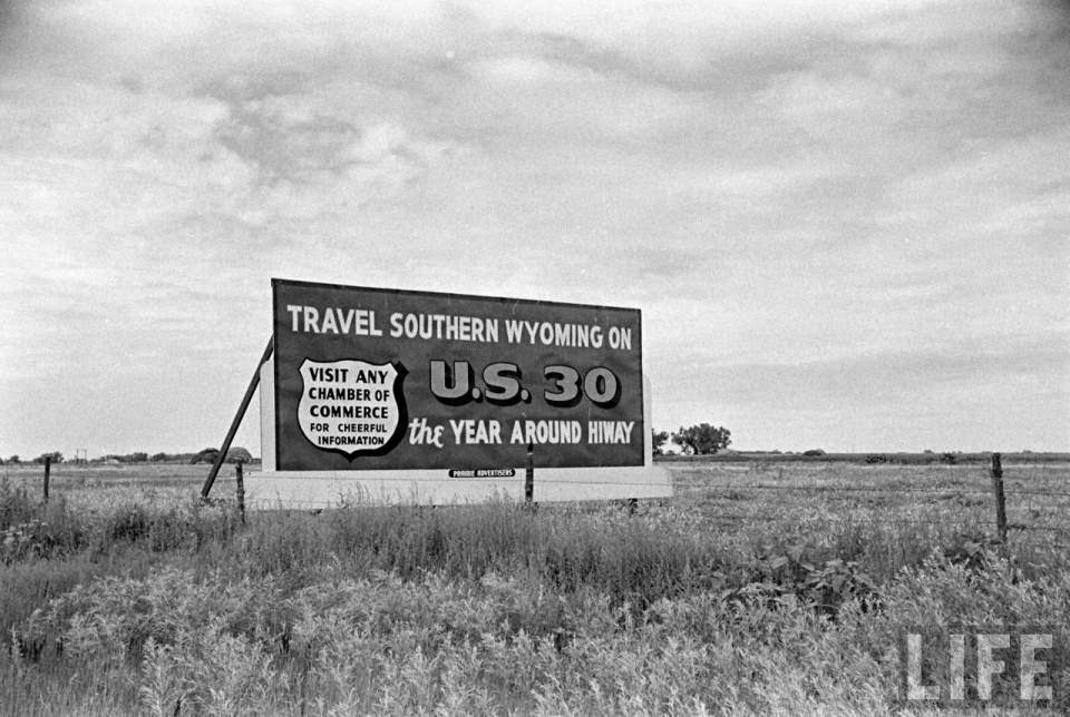 Pictures Of U.S. Route 30 In 1948 | Gold is Money - The ...