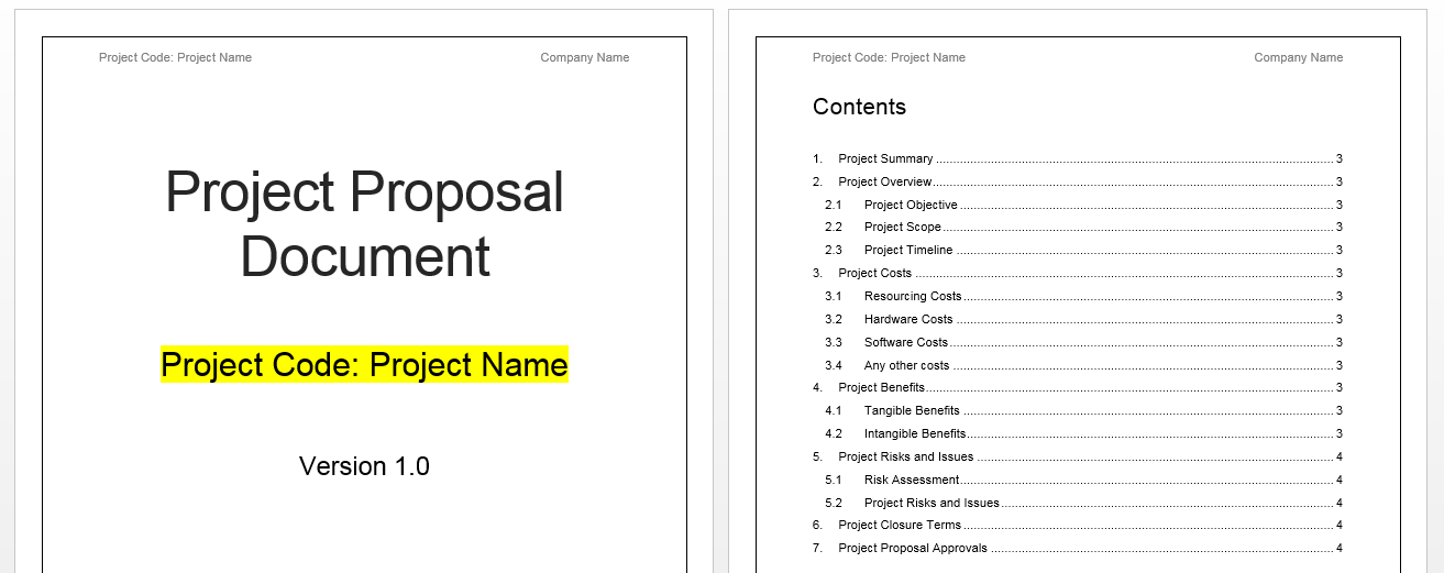 download free proposal template