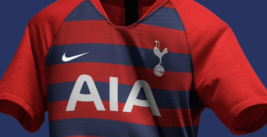 Stunning Nike Tottenham 19-20 Home, Away & Third Concept Kits by