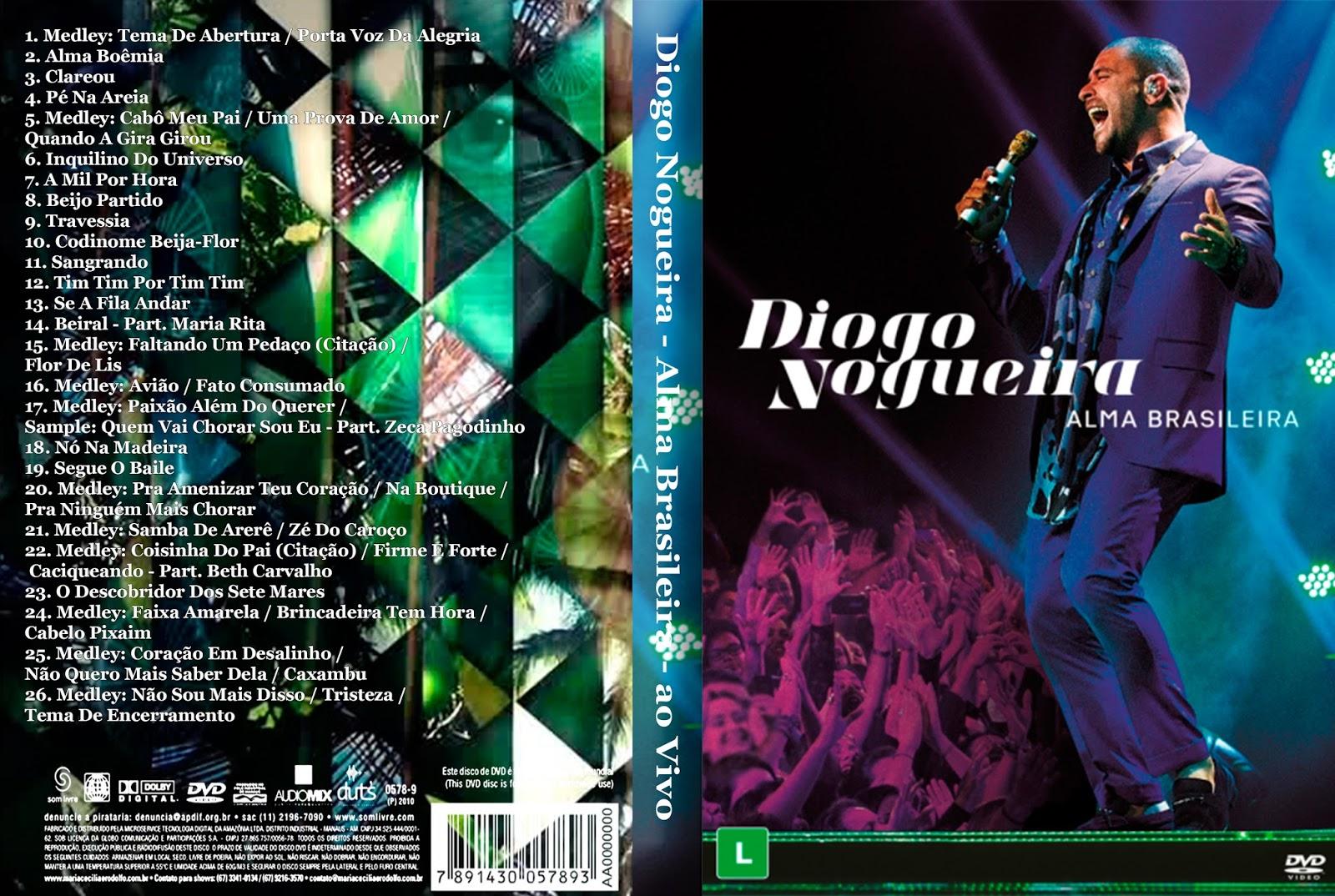 Download Diogo Nogueira Alma Brasileira DVD-R