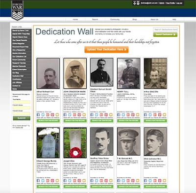 Dedication Wall receives over 3,000 submissions during Remembrance weekend