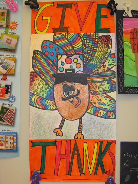 Jamestown Elementary Art 4th Grade Graphic Design