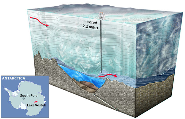 monster antarctic ice shelf