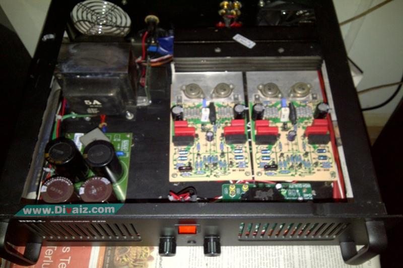 Cara Modifikasi Power Amplifier 3 Tingkat OCL 750 Watt