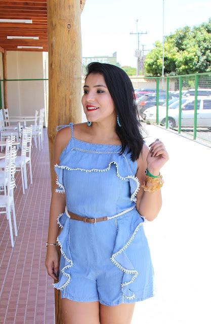Macaquinho jeans o verão 2017 - YDH Store