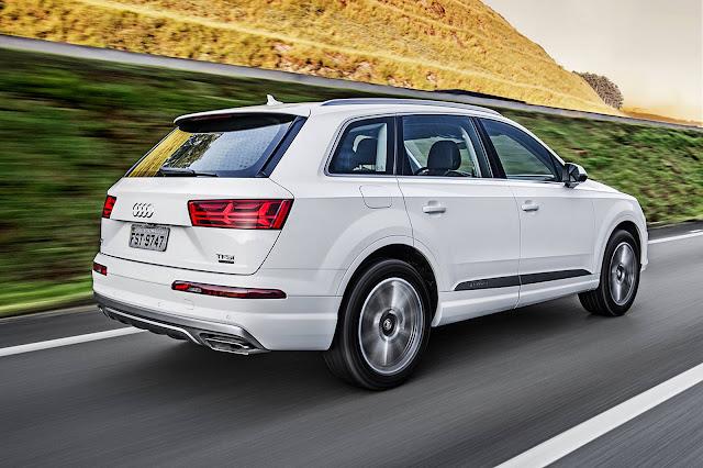 Audi Q7 2016: recall no Brasil - falha na fixação dos bancos