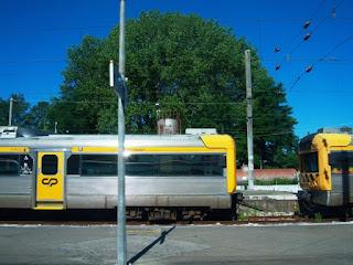 Estação de Trem em Portugal