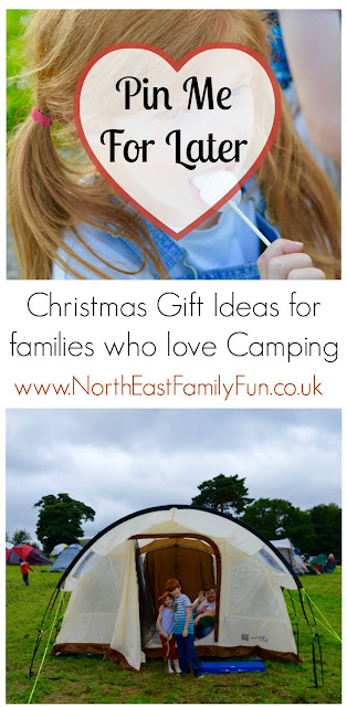 Christmas Gift Ideas for families who love Camping