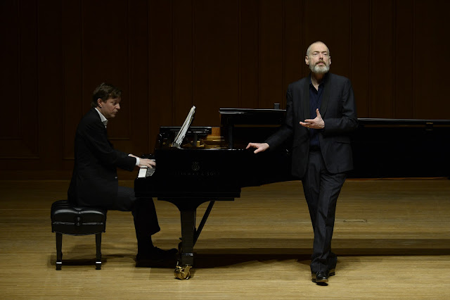 Mark Padmore & Till Fellner (Photo by kind permission of Izumi Hall, Japan - photographer credit Satoaki Hikawa)