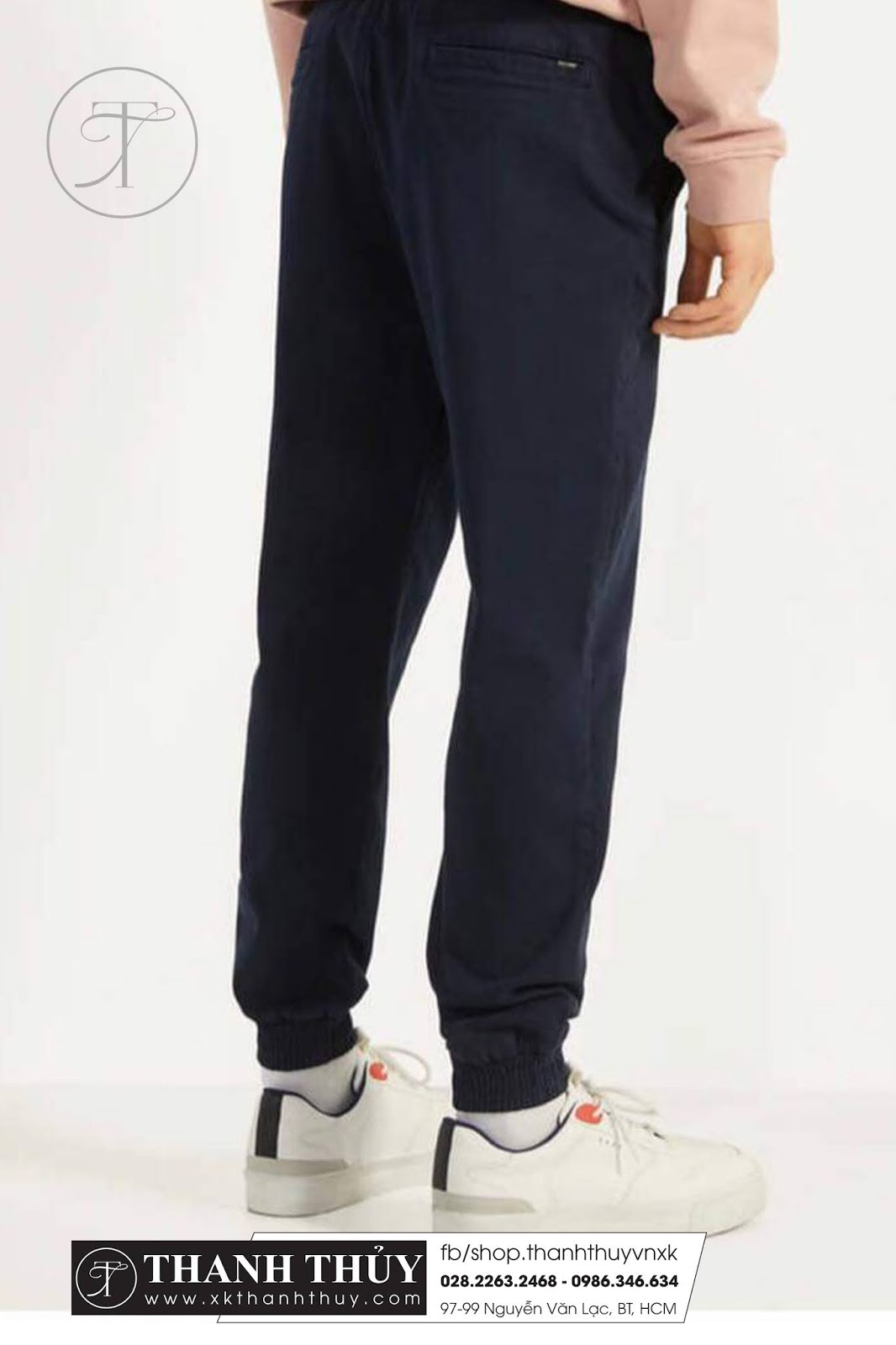 Thời trang Jogger kaki cho nam  phong cách