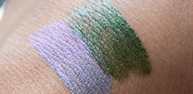 swatch ocean shimmer lidschaten und hidden treasures