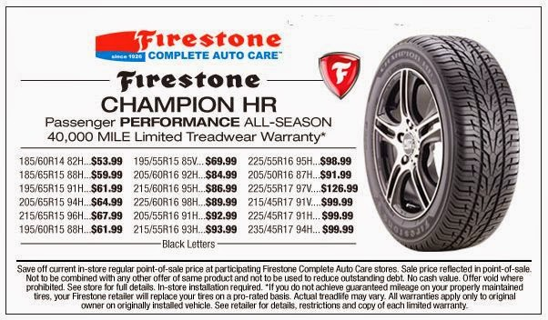 firestone coupons 2018