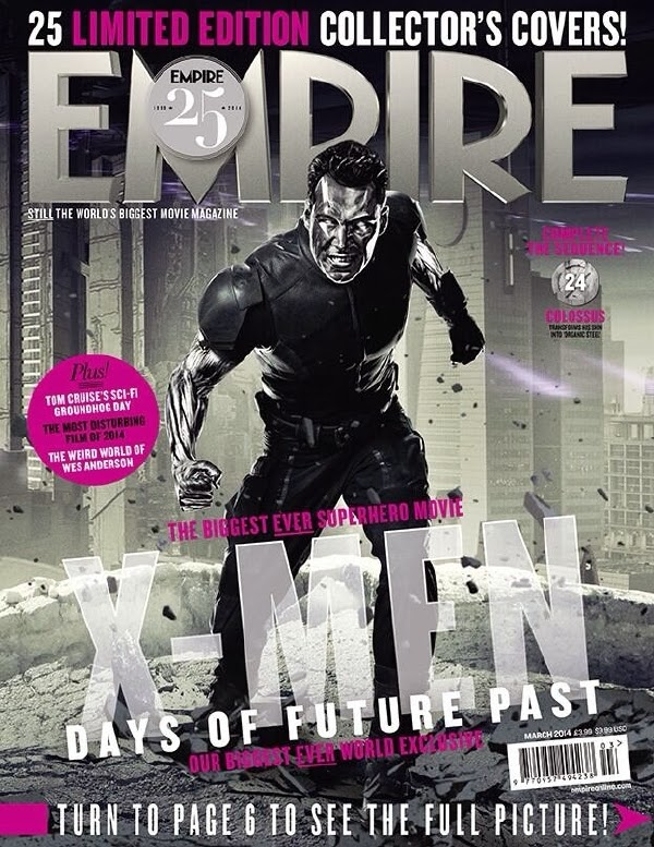 Empire covers X-Men: Days of Future Past: Coloso