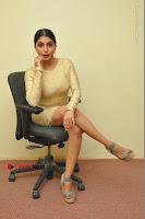 Actress Pooja Roshan Stills in Golden Short Dress at Box Movie Audio Launch  0043.JPG