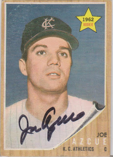 1962 Topps, Joe Azcue