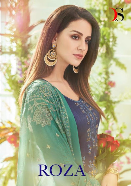 Deepsy roza cotton pakistani suit summer collection