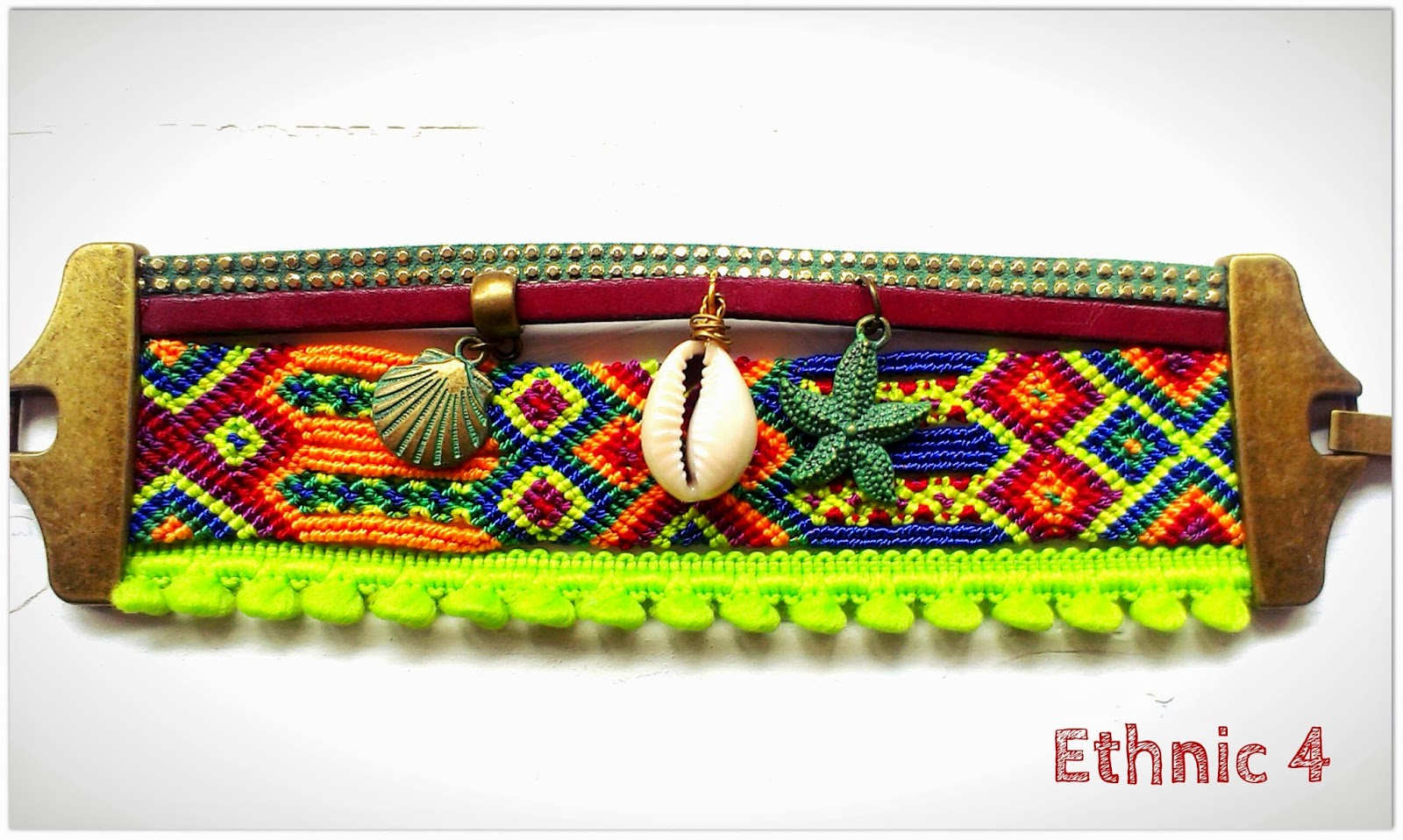 étnicas pulseras tribal