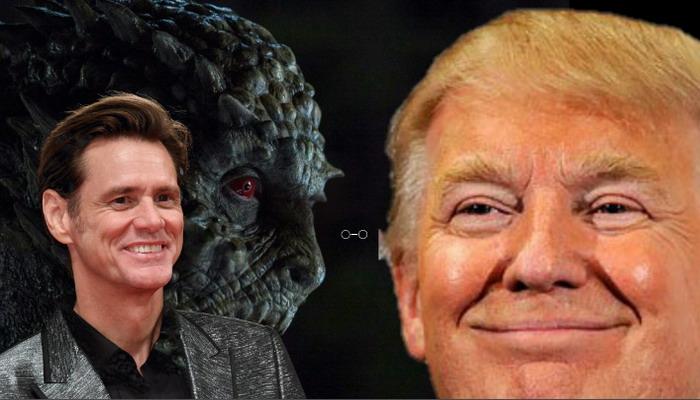 Jim Carrey vuele a sorprender afirma que Donald Trump es un 'príncipe de la sangre Reptil-Illuminati´