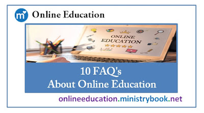 10 FAQ's About Online Education