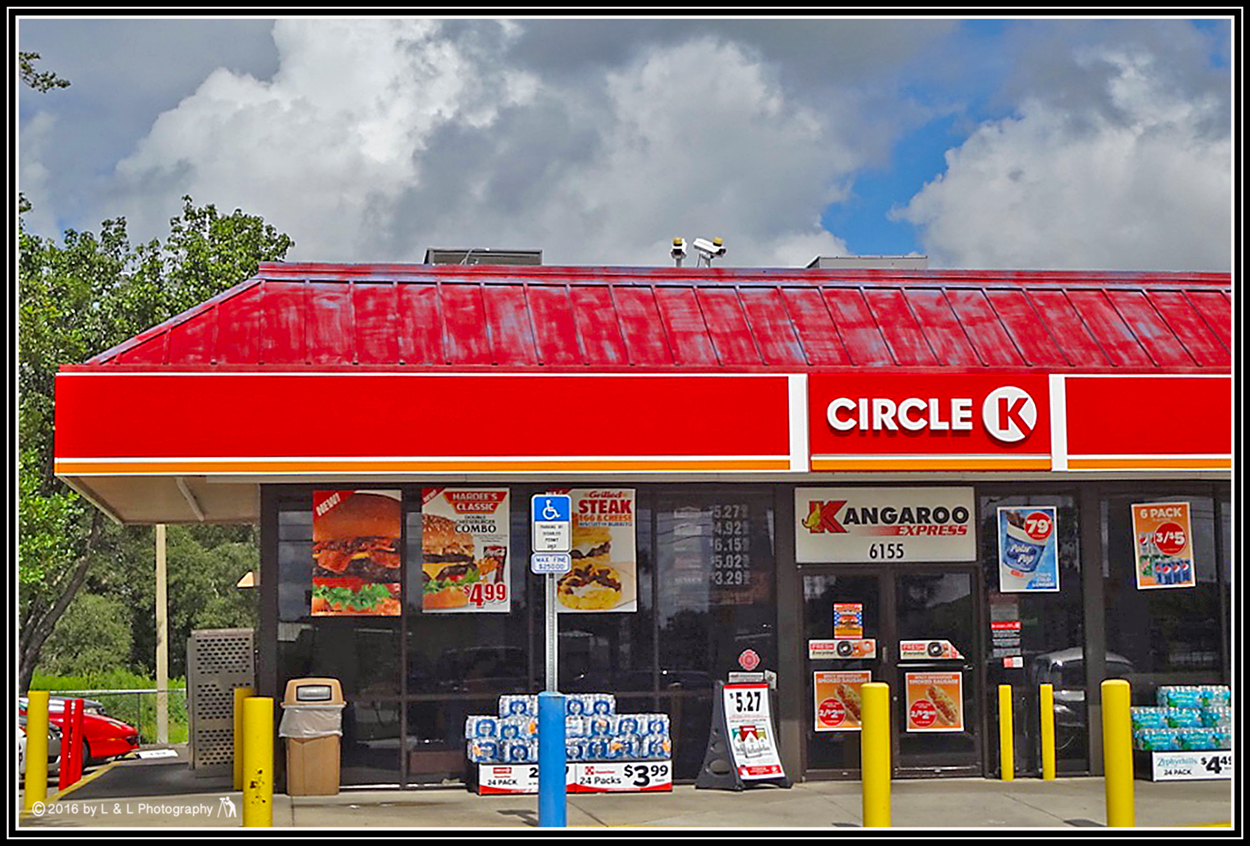 Ocala, Central Florida & Beyond: Circle K Gas Station