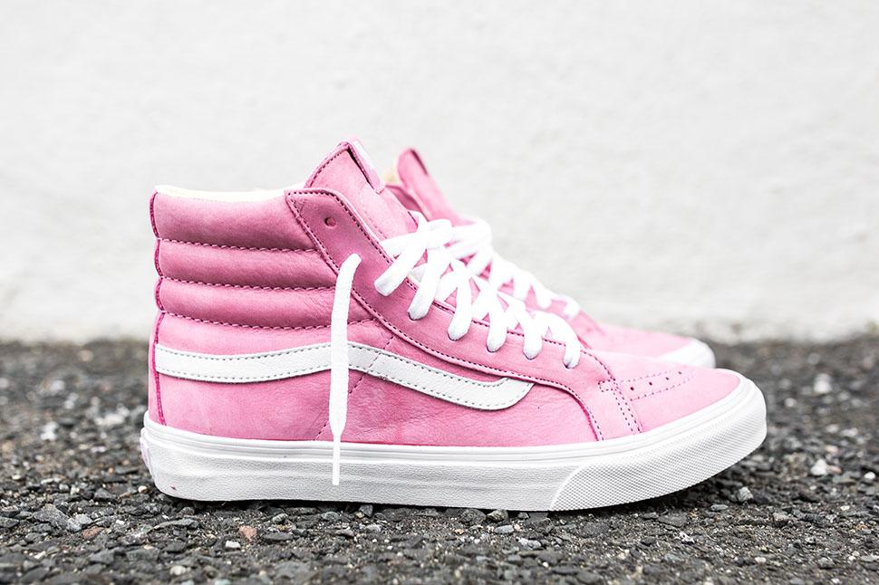 vans bebe rosa