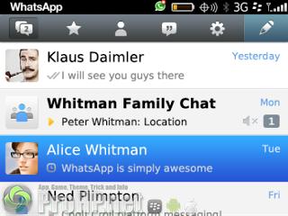 WhatsApp Messenger v2.11.1638