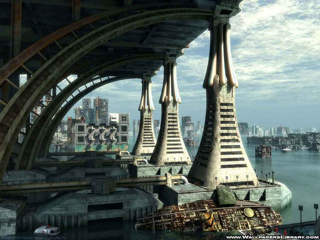 World Wallpaper Sci Fi Wallpaper: World Wallpaper: Future Wallpaper