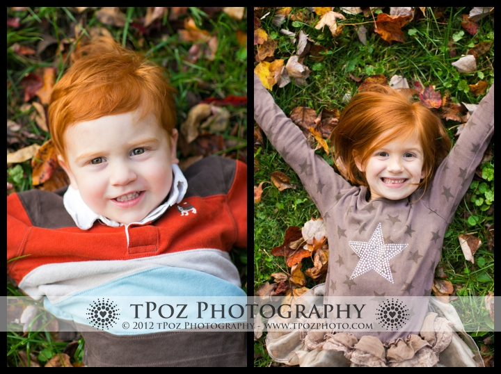 Kids Fall Portrait