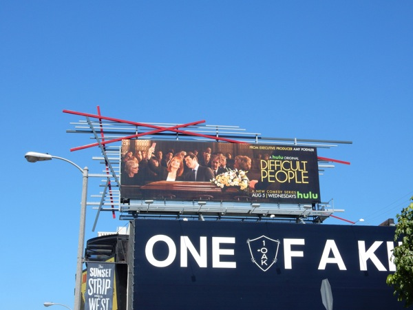 Difficult People season 1 billboard
