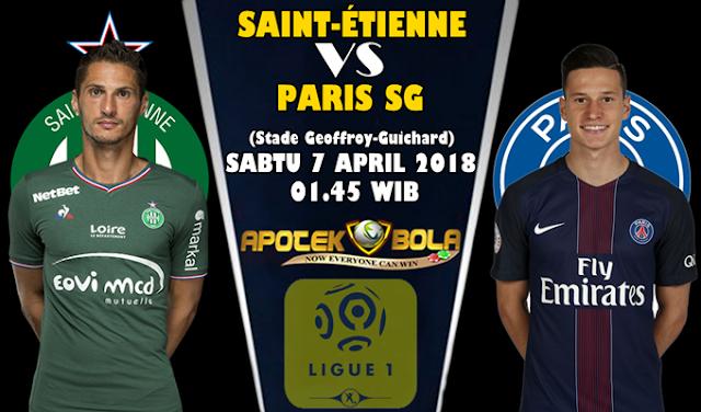 Prediksi Saint Etienne vs Paris Saint Germain 7 April 2018