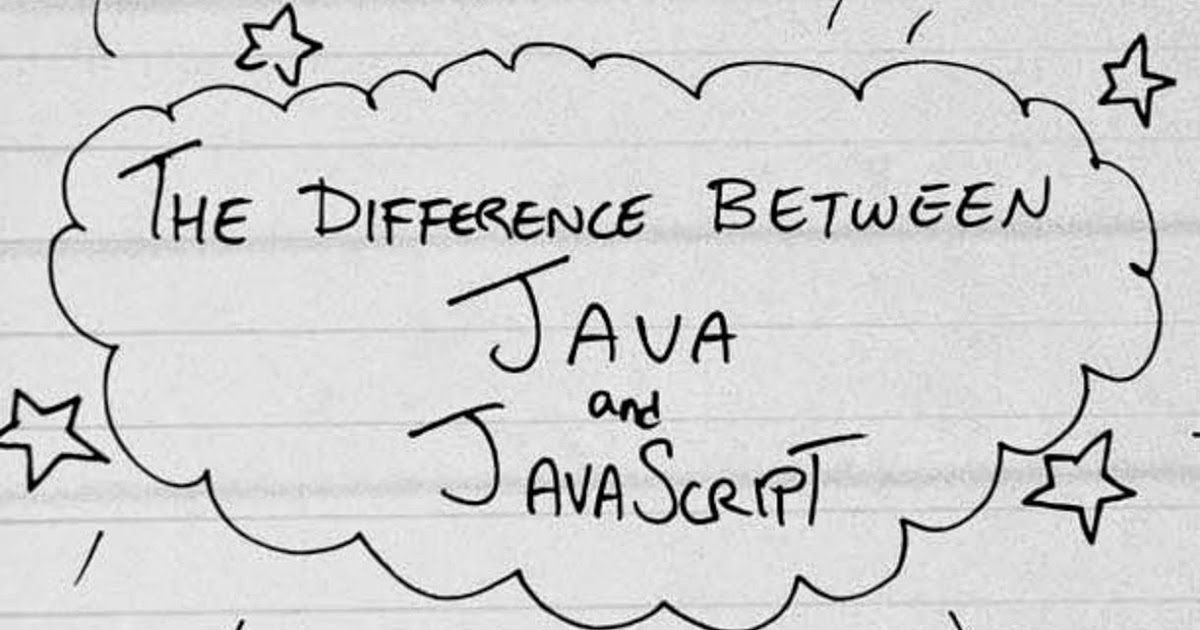 10 difference between Java and JavaScript for Programmers