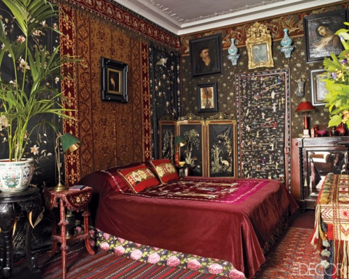 Funky Bedroom Decorating Ideas Eye For Design: Decorating Gypsy Chic Style