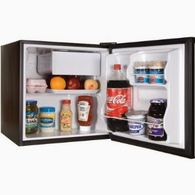 1 cubic foot mini fridge