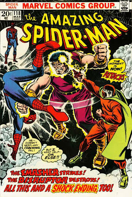 Amazing Spider-Man #118, the Smasher and the Disruptor