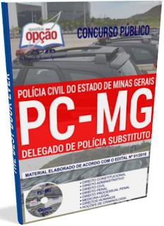 Apostila PC-MG Delegado de Polícia Substituto