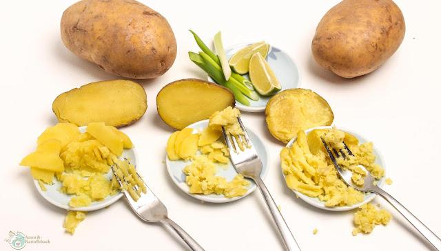 festkochende und  mehlige Kartoffeln im Test