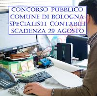 concorso pubblico per contabili a bologna
