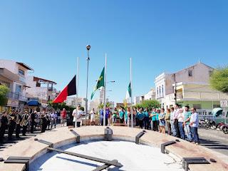 Prefeito de Picuí Olivânio Remígio (PT), abre oficialmente a Semana da Pátria 2018